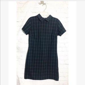 Brandy Melville •  checkered collar Dress